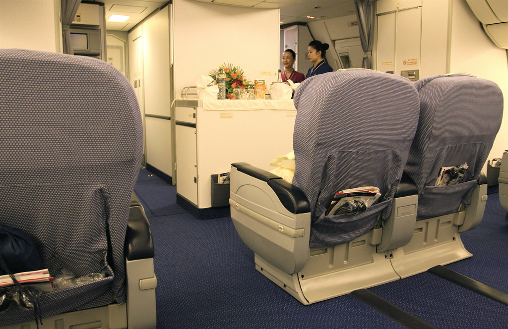 China southern business class on a 777 200 our plane had - China southern airlines hong kong office ...