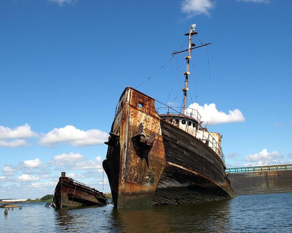 Staten Island Ship Graveyard Arthur Kill New York City