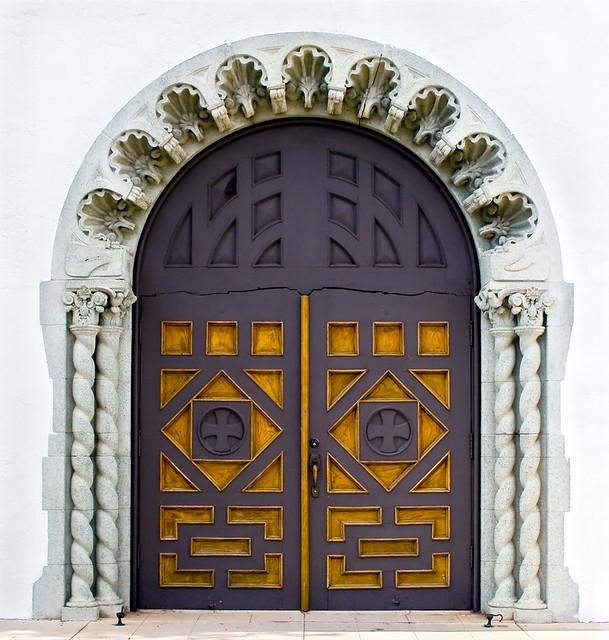 ... DVM Ajo Federated Church Doors Ajo AZ | by Brad Wilson DVM & Ajo Federated Church Doors Ajo AZ | Brad Wilson | Flickr
