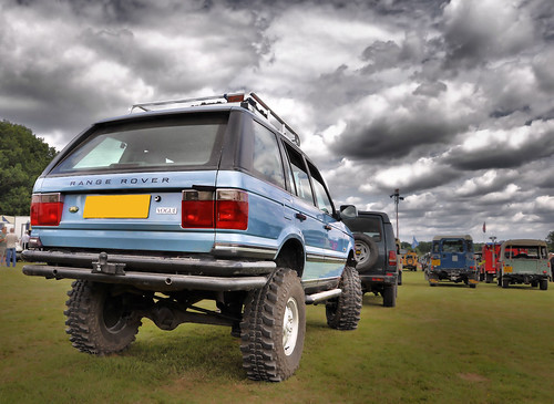 Lifted Range Rover Unstead