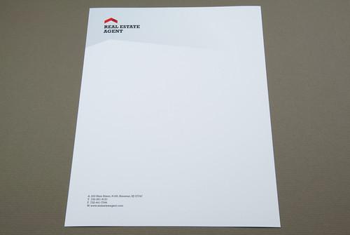 corporate real estate letterhead