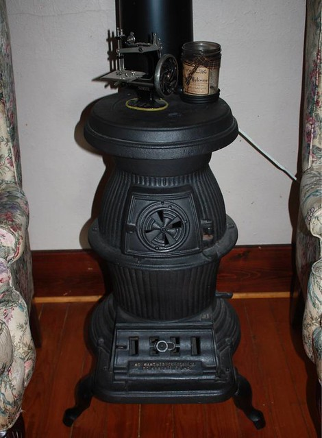 Pot Belly Stove One Of Four Stoves In My Collection