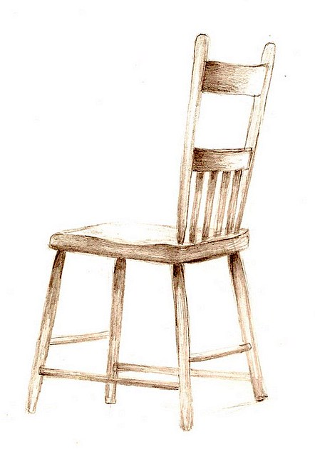 ... Pencil Drawing/old Chair | By Mdpohl2