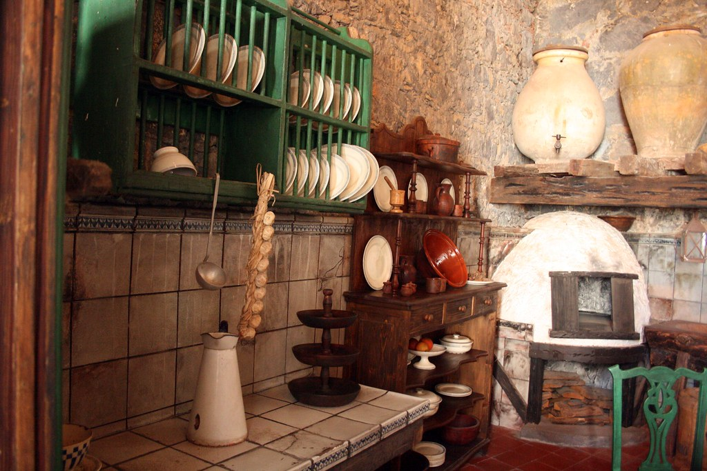 Cocina antigua canaria pehpaz flickr - Mesas de cocina antiguas ...