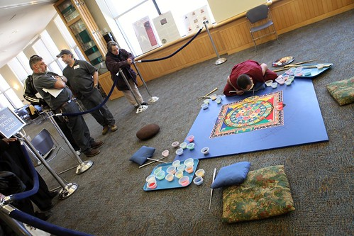 Tibetan Monks Medicine Mandala at UConn Health Center | by WNPR - Connecticut Public Radio