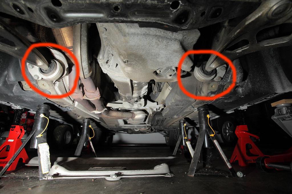 E46 Lower Control Arm Bushing Replacement E46 2002 Bmw