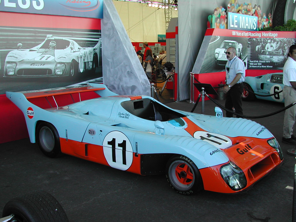 gulf mirage gr8 winner le mans 1975 gualberto flickr. Black Bedroom Furniture Sets. Home Design Ideas