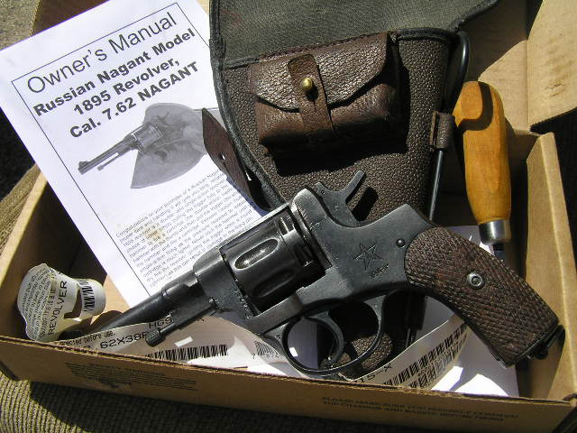 Russian Nagant 1895 Revolver | Used extensively in WWII and