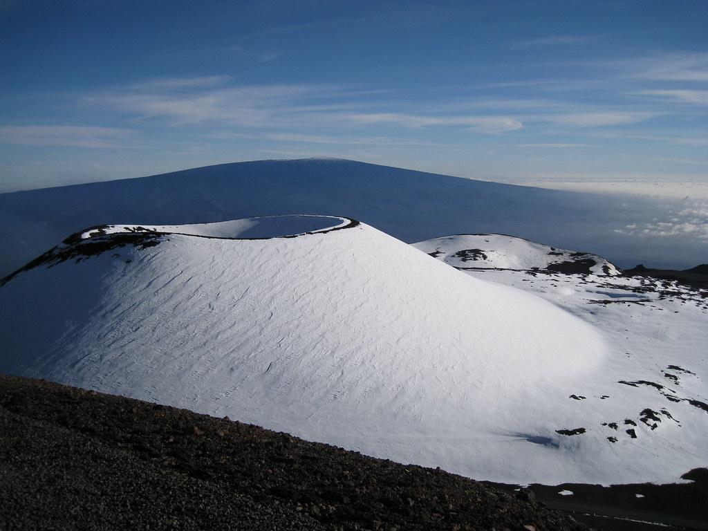 Looking Toward Mauna Loa From Mauna Kea Eric Miraglia