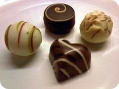 Detail from Hotel Chocolat Tasting Club fourth box
