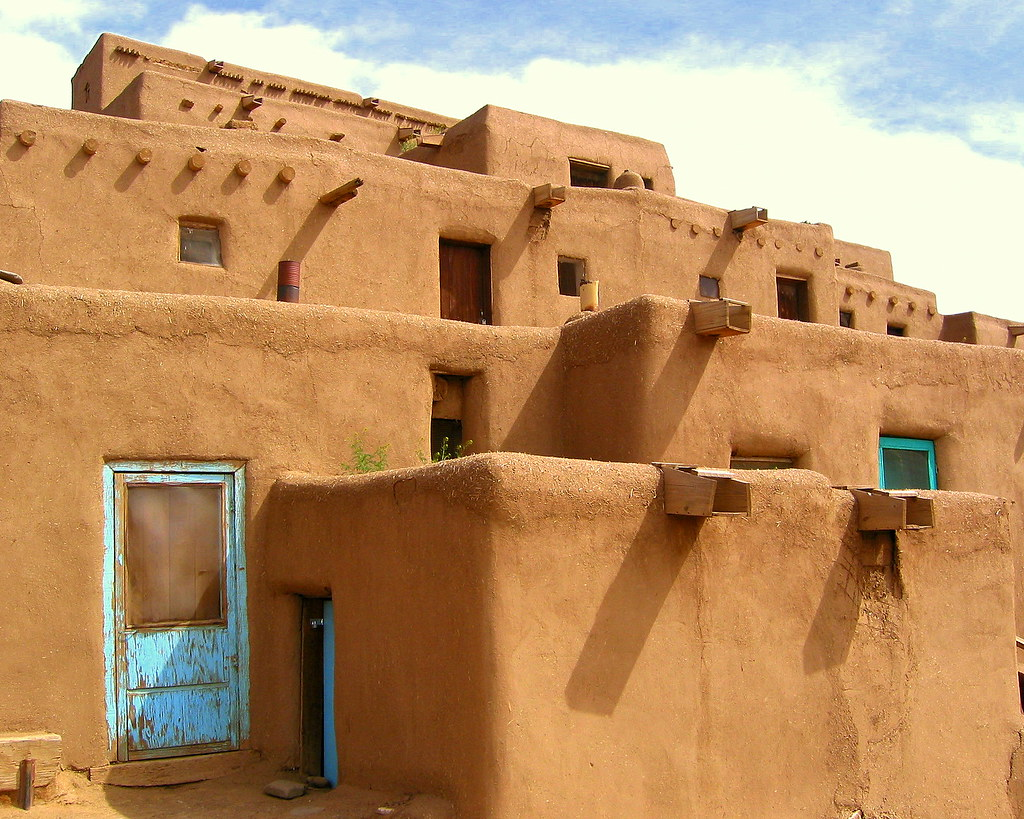 Adobe Homes Taos Pueblo Taos Pueblo Taos New Mexico