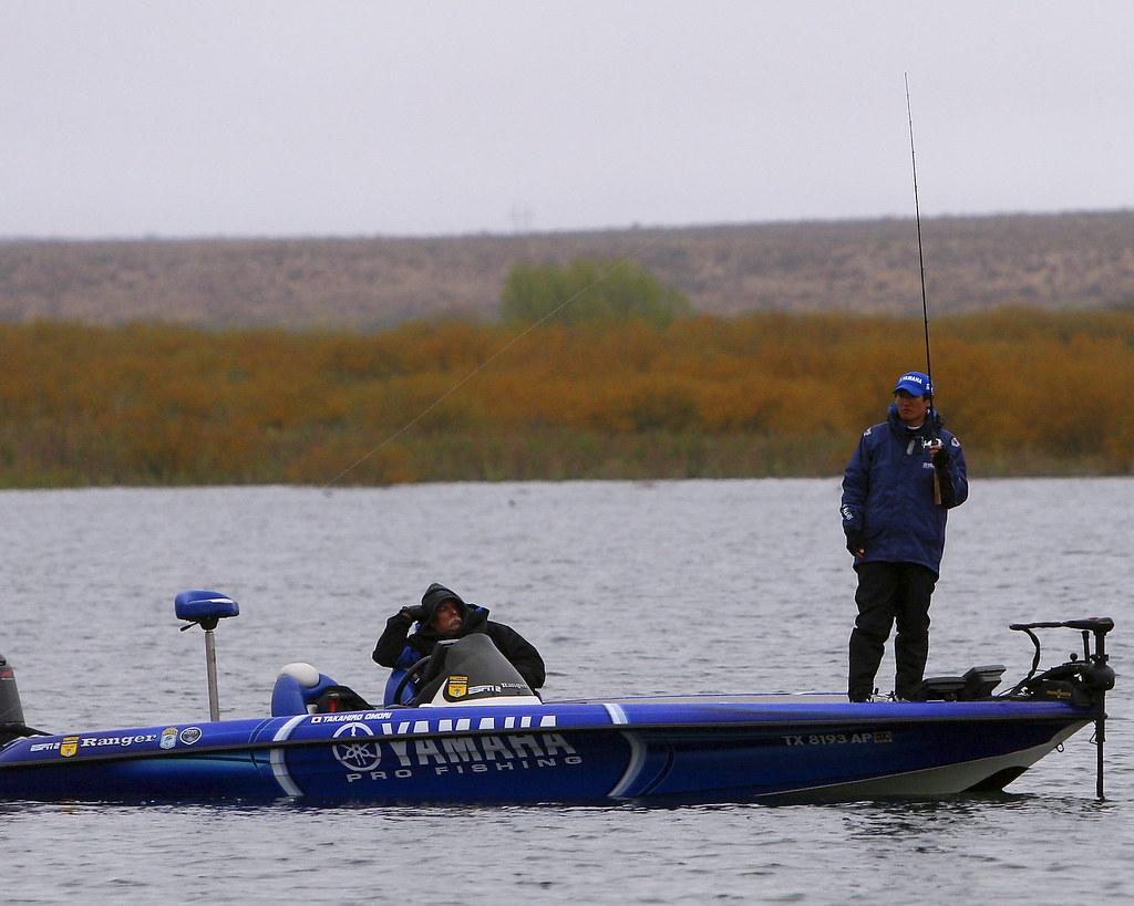 Takahiro omori 2009 bassmaster elite lake amistad flickr for Lake amistad fishing