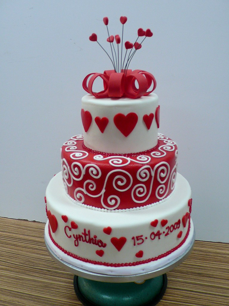 wedding cake hearts white swirls hearts wedding cake 3 cake made for the 22808