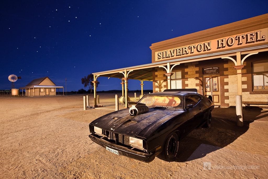 Apocalyptic Classic Car Renders