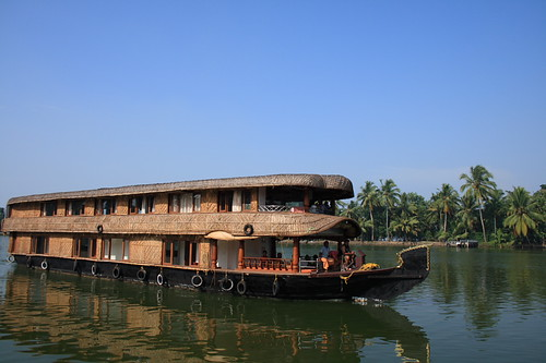 Houseboats of Alapuzha | by AgniMax