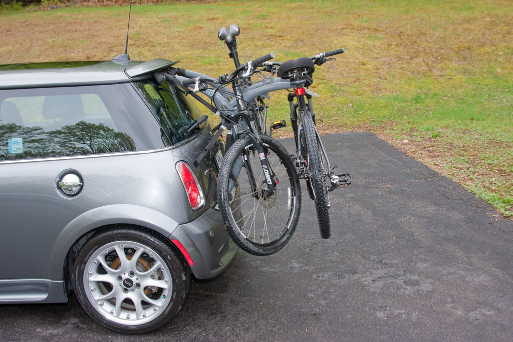 Mini Cooper Bike Rack | I already had the Saris Bones 3, so … | Flickr