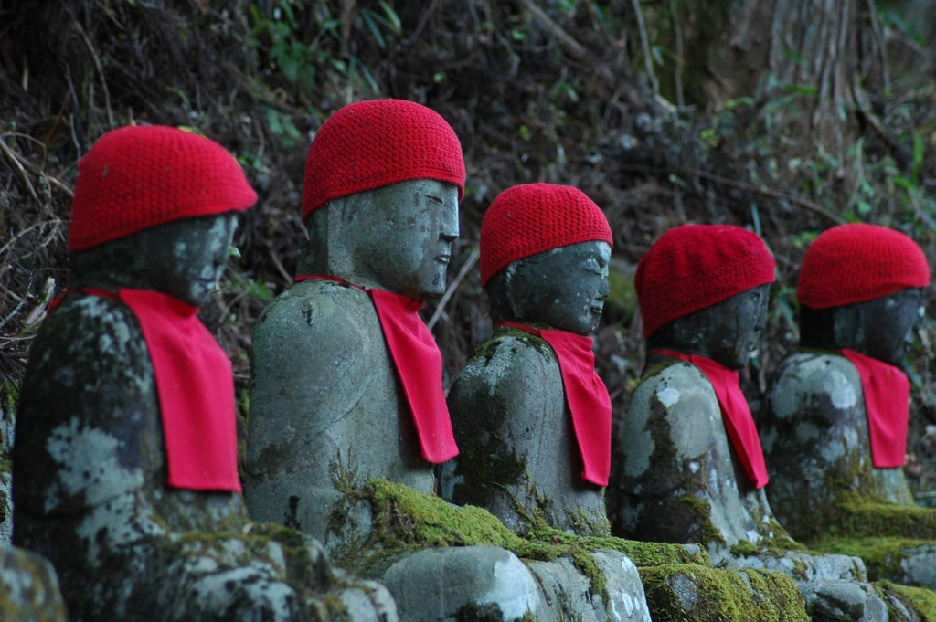 Jizo Statue Jizo Statues at Nikko | by