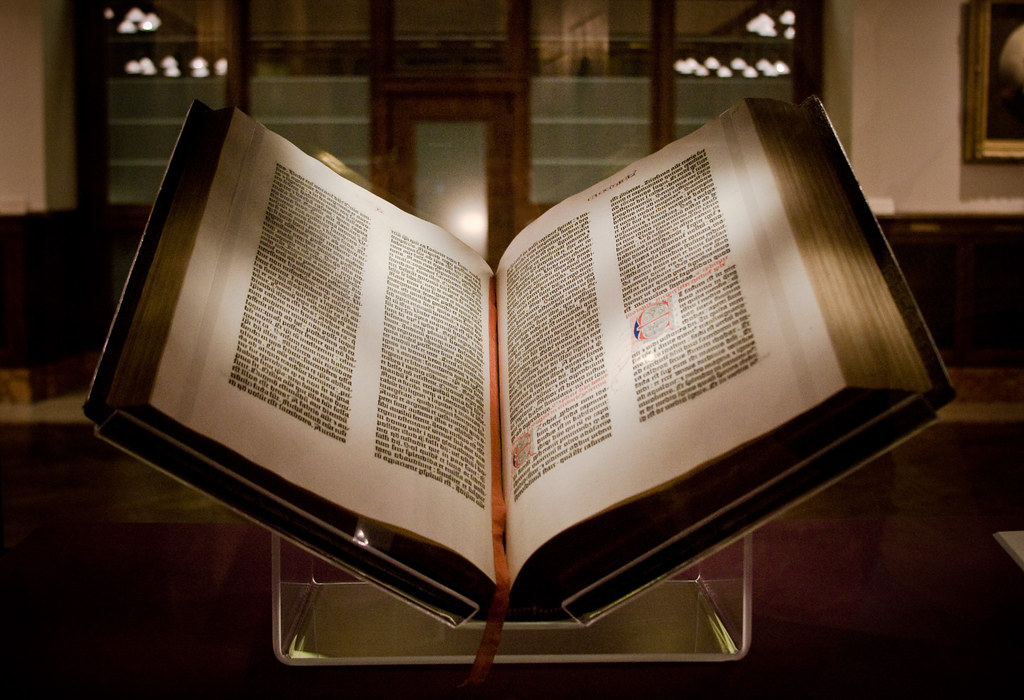 Gutenberg Bible | The first Gutenberg Bible to come to the ...