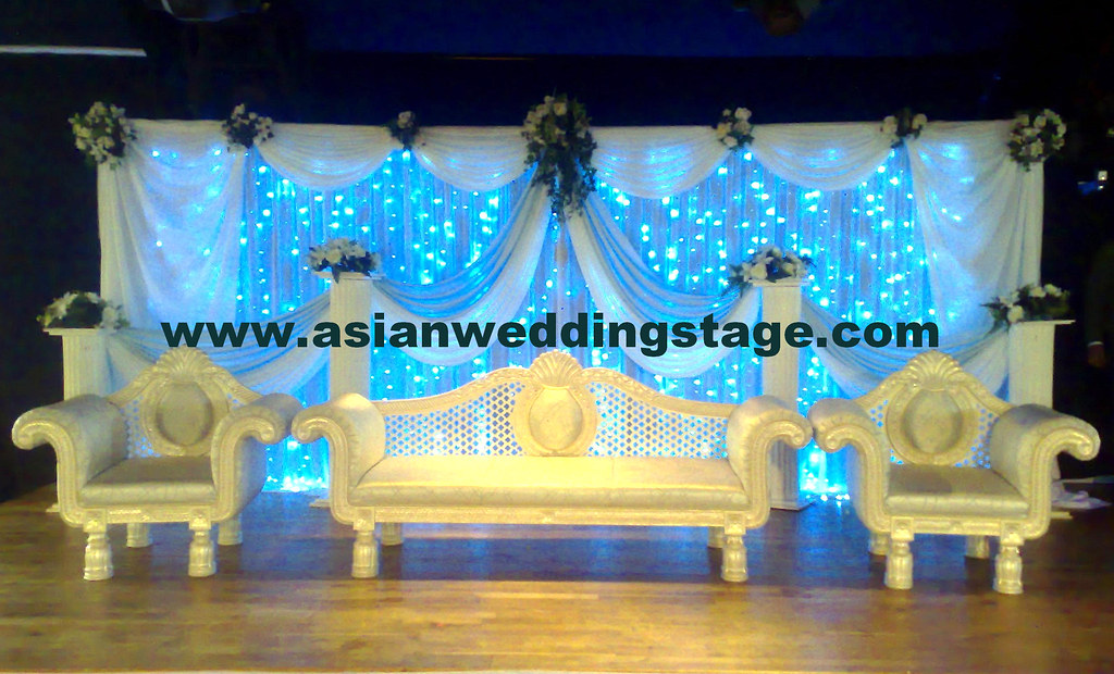 Wedding stage decoration we are quality asian wedding for Auditorium stage decoration
