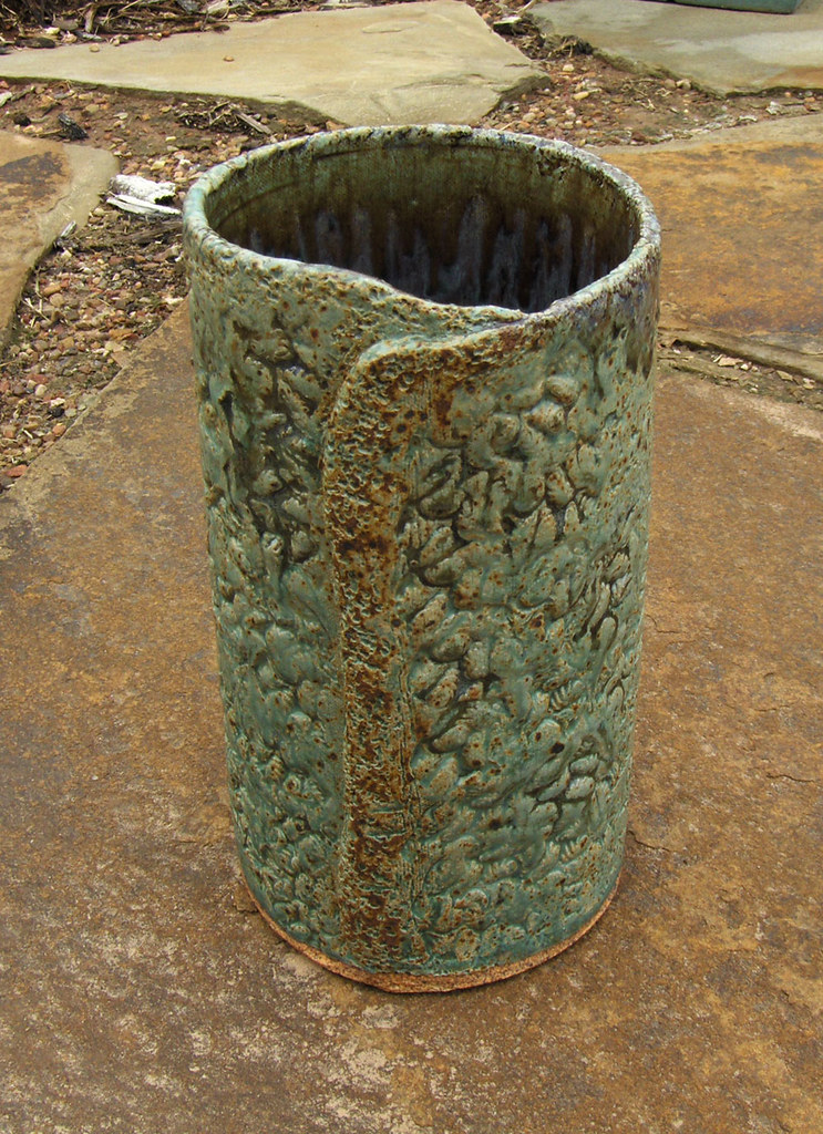 Ceramic Slab Vase Slab Vase Made From A Cone 10 Laguna