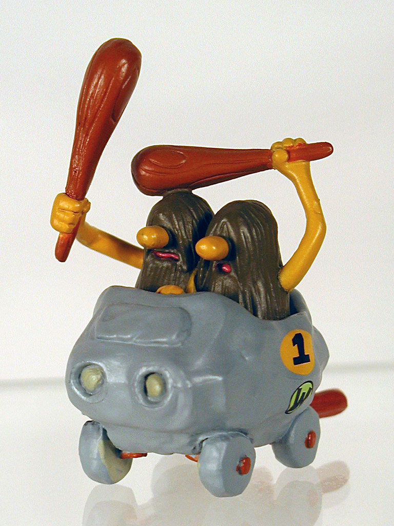 Big Toy Cars >> konami wacky races toy, vol. 1: the slag brothers in the b… | Flickr