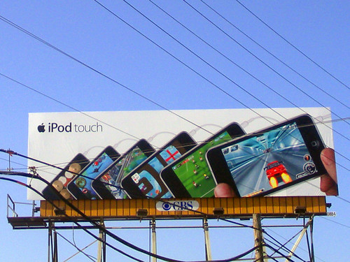 ipod touch billboard | by vin dog