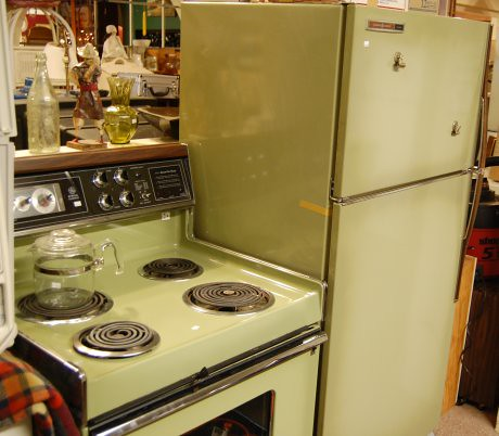 Avocado Ge Kitchen Stove And Refrigerator Fun Stuff From