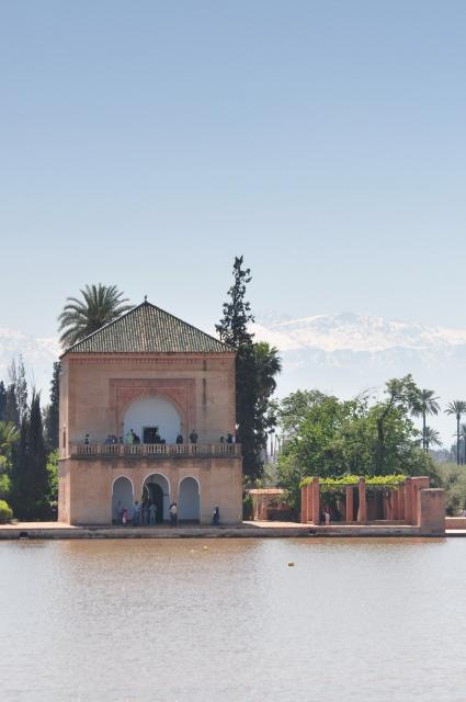 Marrakech Jardin Menara 12th Century By The Almohads A Flickr