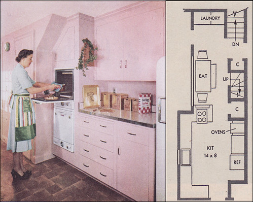 1951 RB Wills Pink Kitchen - Take 2 | by American Vintage Home
