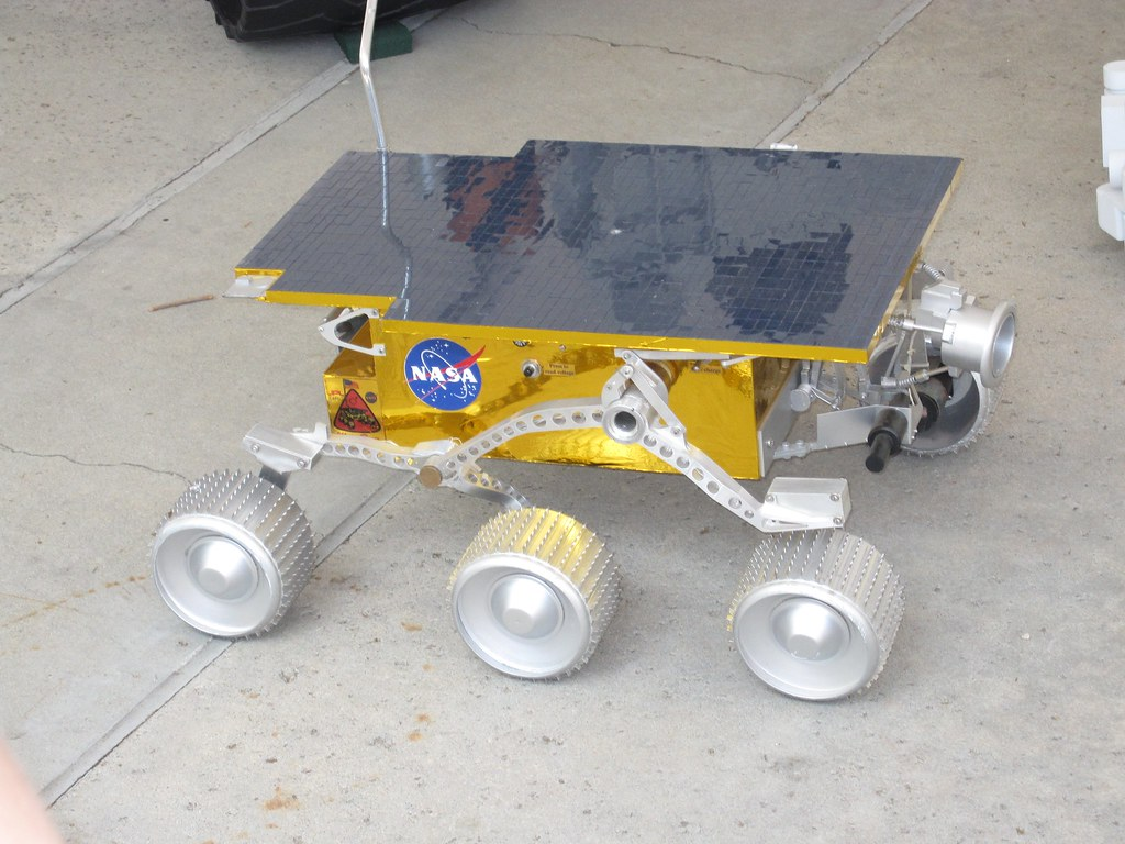 Sojourner Rover Prototype From The 1996 7 Pathfinder