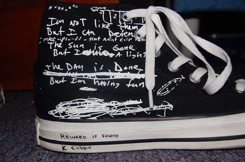 Converse Kurt Cobain