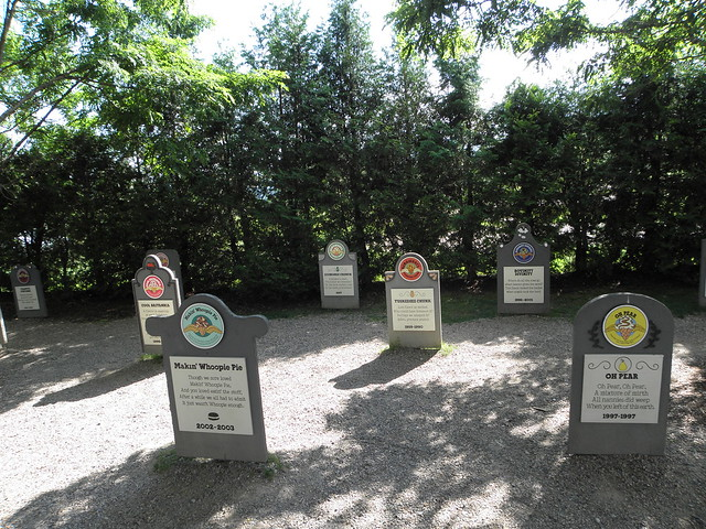 Ben and Jerry Flavor Graveyard
