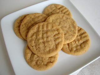 SMS Chewy Peanut Butter Cookies | by Tracey's Culinary Adventures