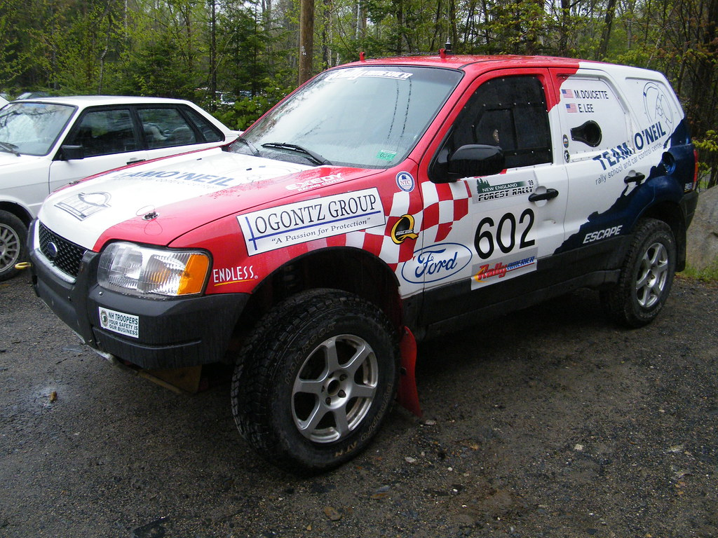 Ford Escape A Beautiful Rally Tuned Ford At The Team O
