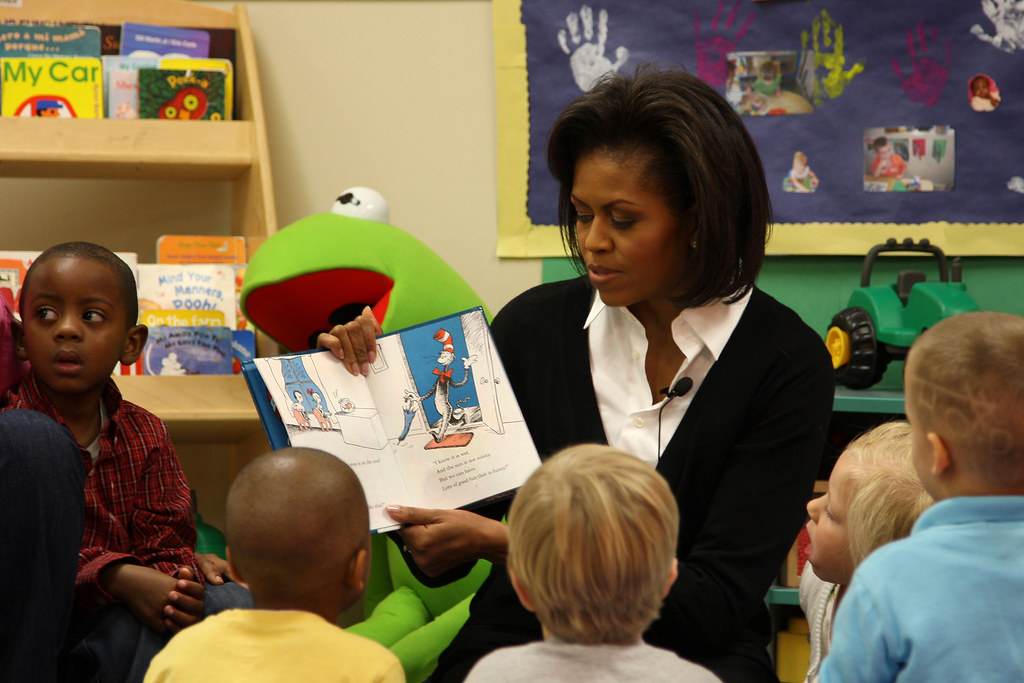 Story Time With The First Lady  First Lady Michelle Obama -2029