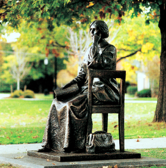 Elizabeth Blackwell Statue At Hobart William And Smith Col ...