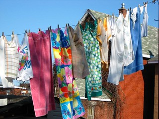 Clothesline: environmentally friendly clothes dryer | by Peter Blanchard