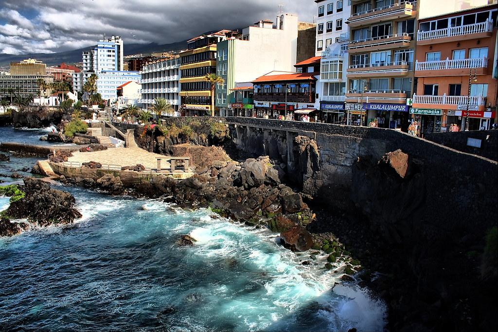 Vista paseo de san telmo puerto de la cruz vista del pas flickr - Hotel san telmo puerto de la cruz tenerife ...