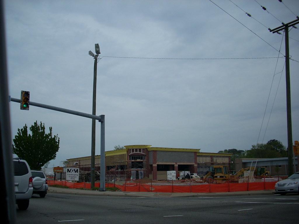 cvs pharmacy construction