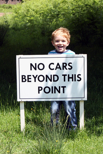 No Cars Beyond This Point | by World of Oddy