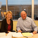 Carol Bartz & Steve Ballmer just after their media/analyst conference call