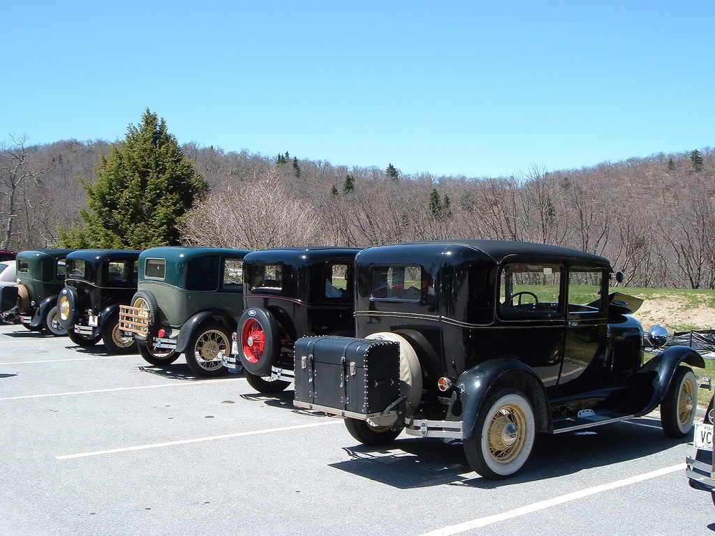 antique ford motorcars found on the blue ridge parkway in. Black Bedroom Furniture Sets. Home Design Ideas