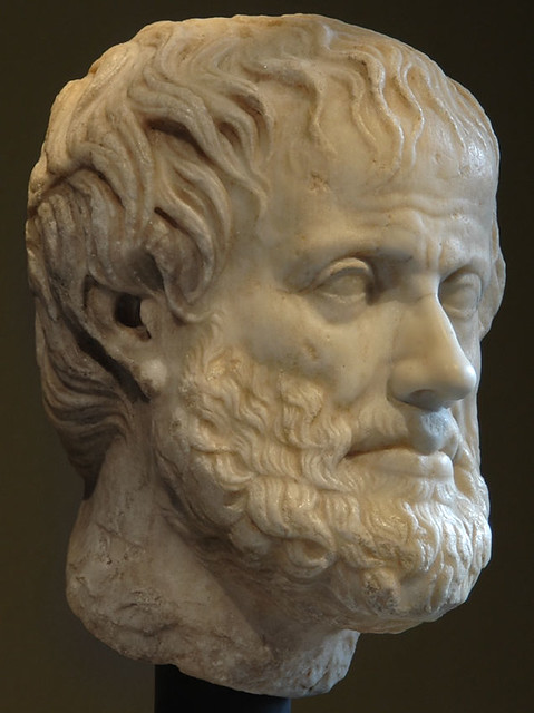 Head Of Aristotle Vienna Museum Of Art History Collecti