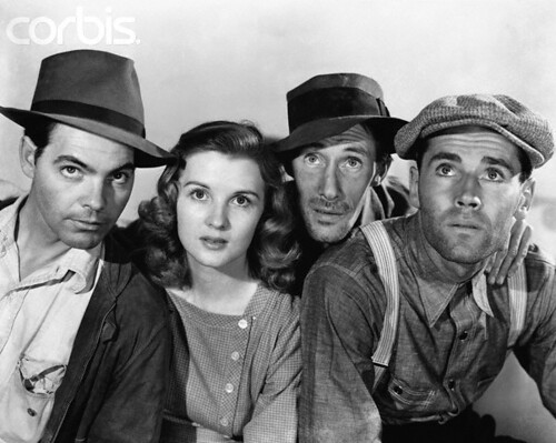 Essay/Term paper: The grapes of wrath: symbolic characters