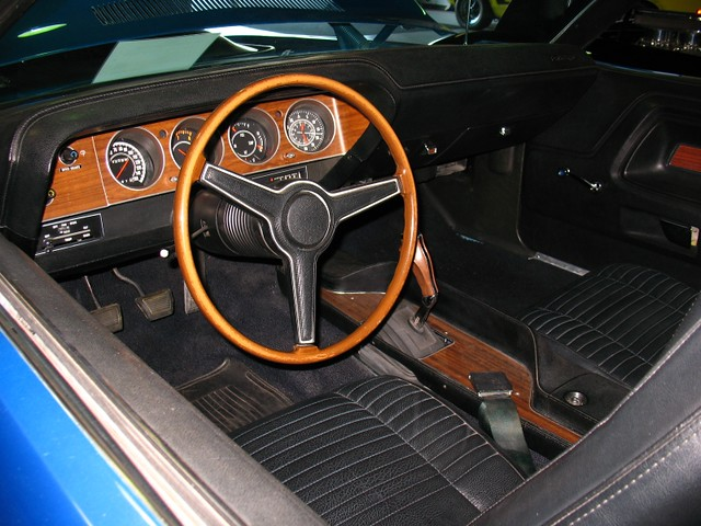 1970 Dodge Challenger R T 426 Hemi 4 Speed Interior Flickr