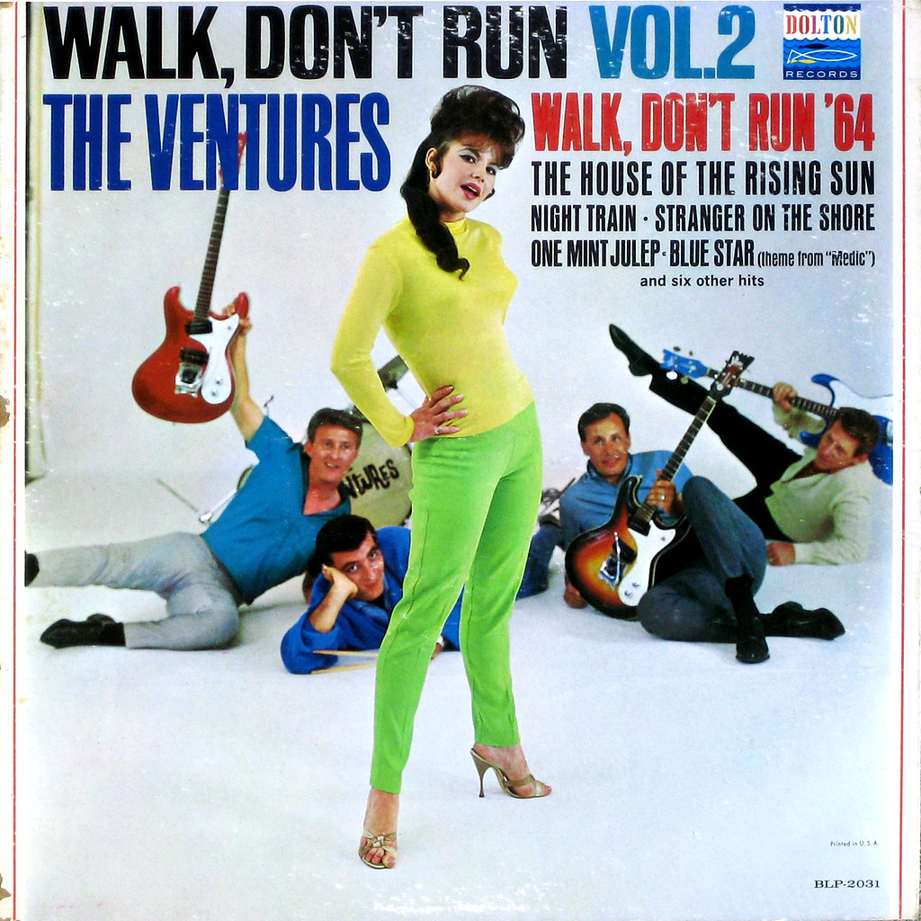 Ventures Walk Don't Run Walk Don't Run Volume 2