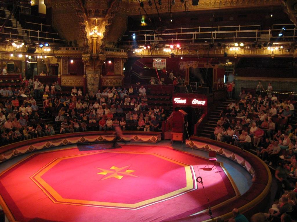 blackpool tower circus arena