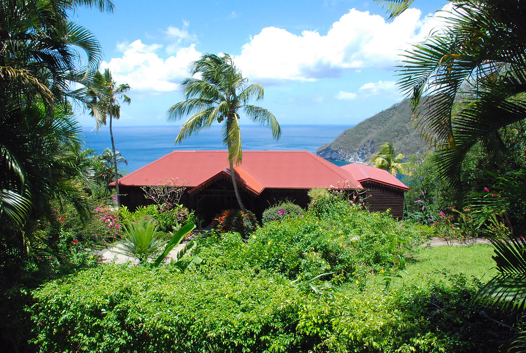 Guadeloupe jardin botanique de deshaies un des plus for Au jardin des colibris deshaies guadeloupe