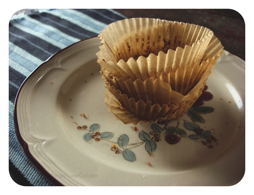 Muffins all gone...