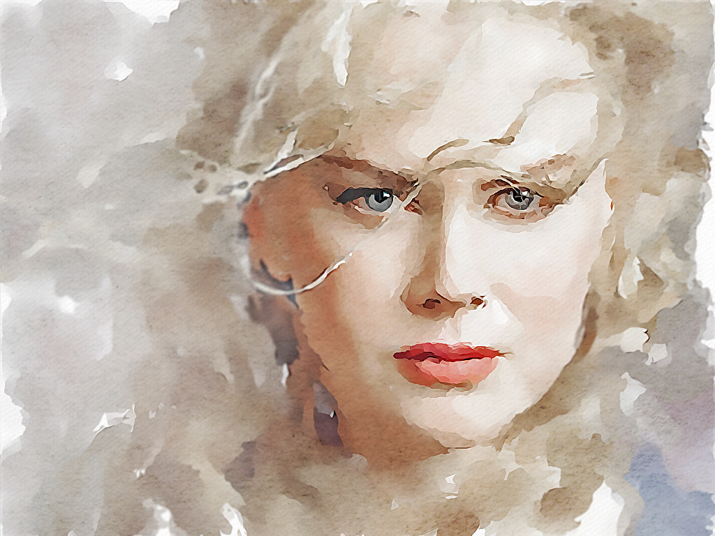 Famous Paintings Of Women Watercolour